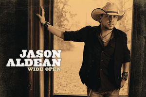 Jason Aldean's record Wide Open cover