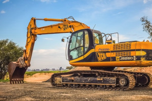 Used JCB JS260 Construction Excavator For Sale