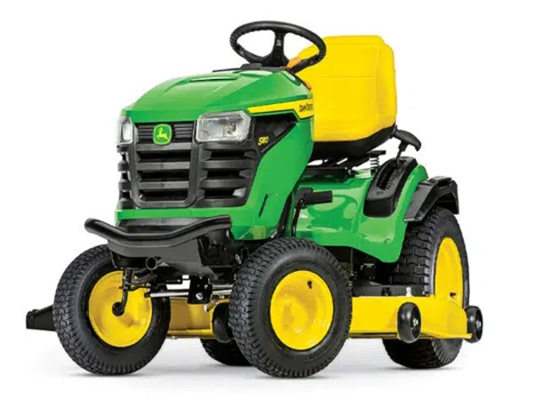 John Deere S100 series lawn tractor