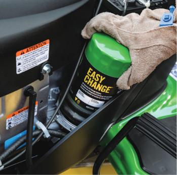 John Deere easy change oil