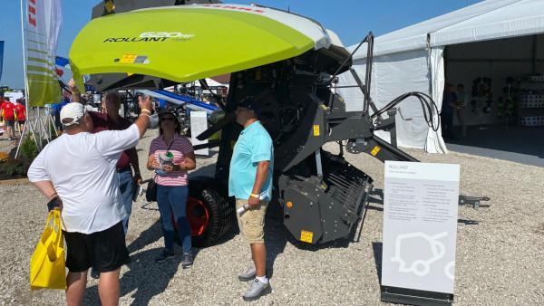 CLAAS Rollant 620 RF Baler at Farm Progress Show 2021 in Decatur, IL