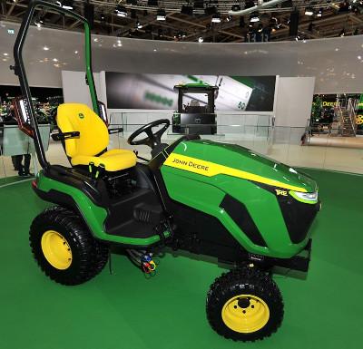 John Deere 1R Series Compact Utility Electric Tractor Prototype