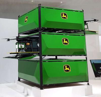 John Deere Autonomous Drone Sprayer Prototype