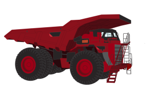 Mining Truck Clipart