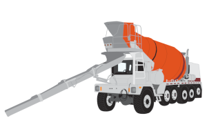 Concrete Mixer Truck Clipart
