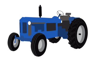 Classic Tractor Clipart